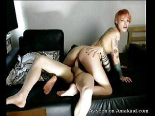Случайное любительское порно